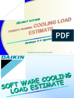 Cooling Load by Soft Ware
