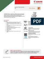 Canon PIXMA iP100 Inkjet Printer with Battery
