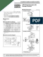 Encoder GP1A038RBKL