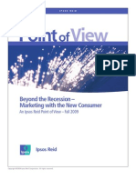 Marketing with the New Consumer (Ipsos Reid Study)