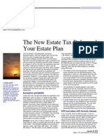 new estate tax rules and your estate plan