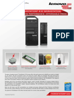 Lenovo ThinkStation E32 Datasheet