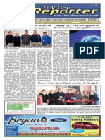The Village Reporter - February 5th, 2014