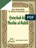 Qutaybah bin Muslim al-Bahili