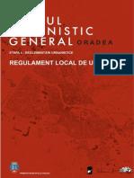 PLANUL URBANISTIC GENERAL - ORADEA