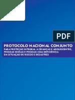 Protocolo Nacional Desastres 2013
