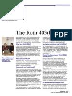 the roth 403b