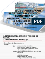 Curs 4 Elemente de Dimensionare Si Optimizare Energo-economica