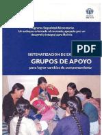 Grupos de Apoyo para lograr cambios de comportamiento