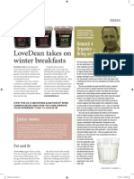"""Onward 4 organics –bring on the facts"" - Professor David Russell - January 2008"
