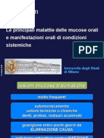 Lez 4 - Malattie Mucose Orali