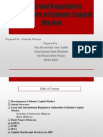 Legal and Regulatory Framework of Islamic Capital Market