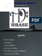 Introduction to Hbase
