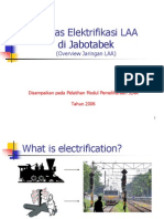Sekilas Elektrifikasi LAA Di Jabotabek