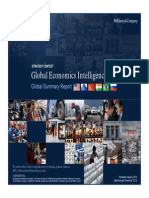 McKinsey Global Economic Intelligence Report - January 2014