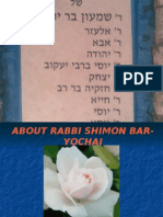 About - Rabbi Shimon Bar-Yochai