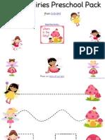 Fairy Preschool Pack