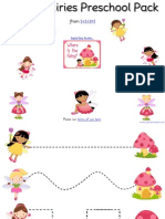 Fairy Preschool Pack