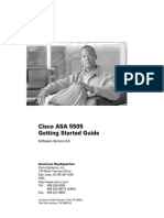 Cisco ASA 5505 Getting Started Guide 8.0