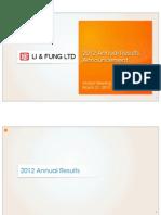 2012 Results Presentation