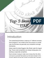 Top 5 Banks in UAE