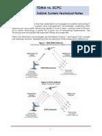 TDMA vs SCPC Technical Note