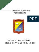 Español IV V VI ACTUALIZADO CON PRUEBAS ICFES