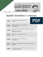 BQ Challenge Q+a English