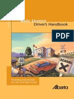 Alberta Driving Basic Handbook 2009
