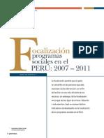BCRP Valenzuela - Focalizacion de PS 2007-2011
