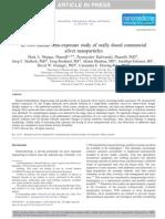 Nanoparticulas de Plata