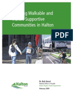 Creating Walkable and Transit-supportive Communities in Halton