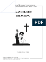 Evangelistic Preaching - Facilitators Guide