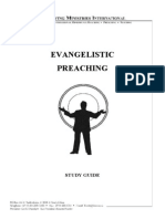 Evangelistic Preaching - Study Guide