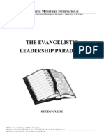The Evangelistic Leadership Paradigm - Study Guide