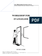 Workshop for Evangelism - Study Guide