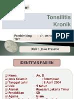 Presus Tonsilitis