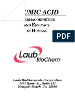 Humic Acid Pharmacokinetics and Efficacy in Humans