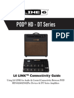 L6 LINK Connectivity Guide for POD HD & DT Amplifiers v2.10 - English ( Rev a )