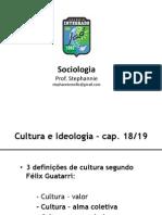 Cultura e Ideologia - Aula 17-10-2013