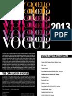 Vogue Gioiello Italy 2013