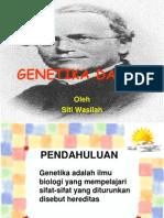 Genetika Dasar Dan Hukum Mcendel