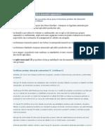 Evaluarea Conformitatii in Domeniile Reglementate