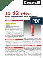 TS 52 Winter Fisa Tehnica