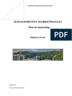 Plan de Marketing Statiunea Sovata