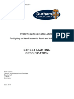 Street Lighting Specification July 2011