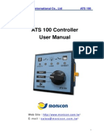 Monicon ATS 100 User Manual