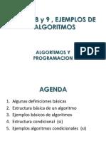 09-Ejemplos Basicos Algoritmos- Algoritmos y Programacion