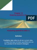 9a Analyizing Qualitative Data
