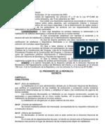 Decreto 333.2000 Reglamentario Ley 15896